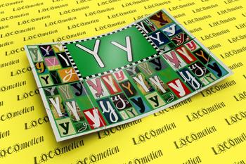 Circle-Line Alphabet Display Case: Y
