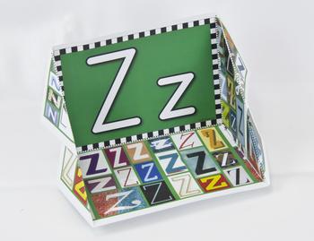 Circle-Line Alphabet Display Case: Z