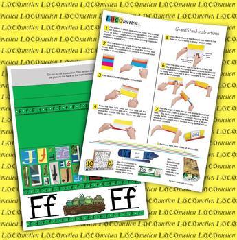 Circle-Line Alphabet GrandStand: F