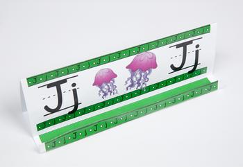 Circle-Line Alphabet GrandStand: J