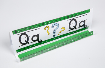 Circle-Line Alphabet GrandStand: Q