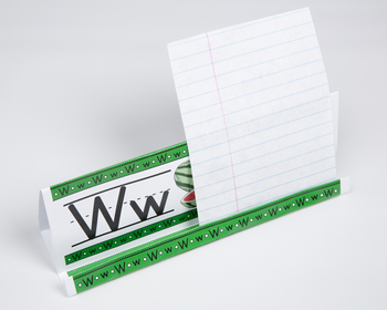 Circle-Line Alphabet GrandStand: W