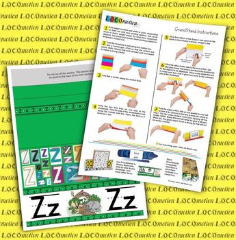 Circle-Line Alphabet GrandStand: Z