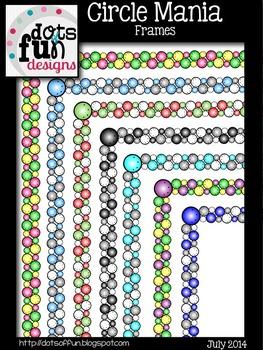 Circle Mania Frames ~Dots of Fun Designs~
