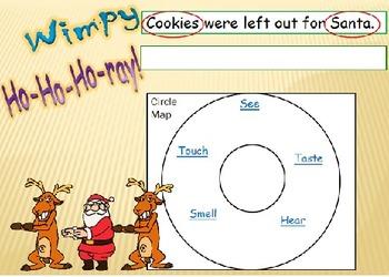 Circle Map Writing