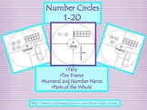 Circle Maps for Number Journals