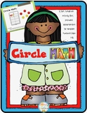 Circle Math: Addition & Composing Up to Ten! Hands-on Acti