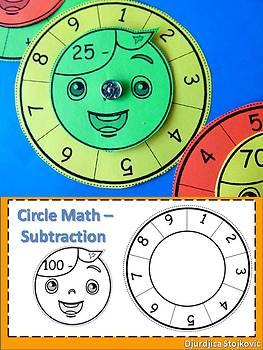 Circle Math - Subtraction