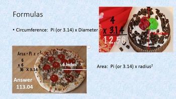 Circle Math Video and Kit - Vocabulary, Formulas, Circumference, Etc.