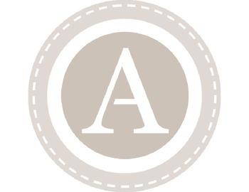 Circle Monogram Alphabet