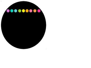 Circle NEON Banner Editable