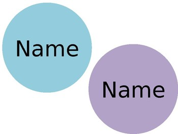 Circle Name Tags
