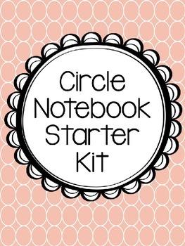 Circle Notebook Starter Kit