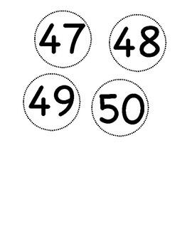 Circle Numbers 31-50