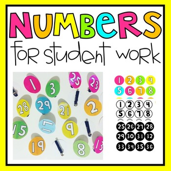 Circle Numbers for Student Work