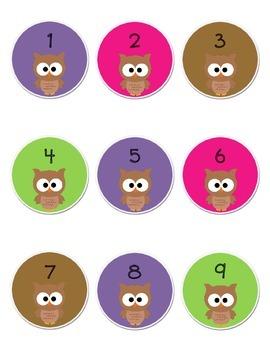 Circle Owl Numbers