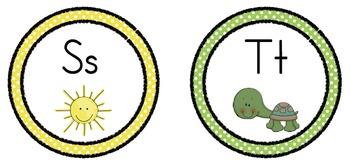 Circle Polka Dot Alphabet