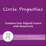 Circle Properties (Lesson with Homework)