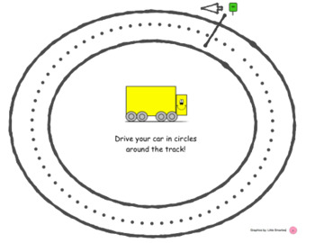 Circle Racetrack Practice - crossing Midline/ Brain Gym
