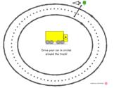 Circle Racetrack Practice - crossing Midline/ Brain Gym