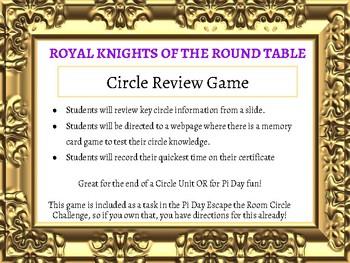 Circle Review Game