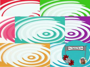 Circle Ripple Digital Paper