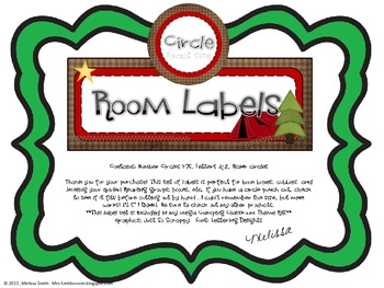 Circle Room Labels
