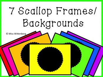 Circle Scallop Frames