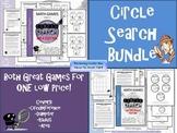 Circumference and Area {Circle Search Game MEGA BUNDLE}