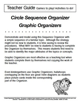 Circle Sequence -  Graphic Organizer and Lesson Plan