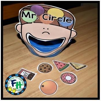 Circle Shape Activity Pack