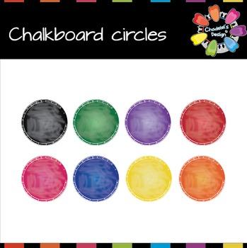 Circle-Shaped Chalkboard [Back to School]