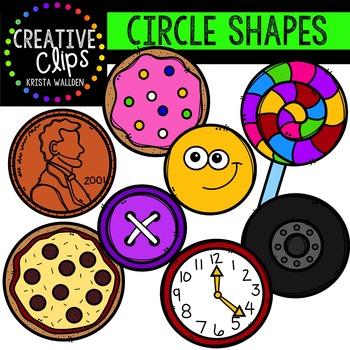 Circle Shapes {Creative Clips Digital Clipart}
