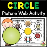 Circle Shape Picture Web Activity for Preschool