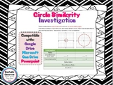 Circle Similarity Investigation