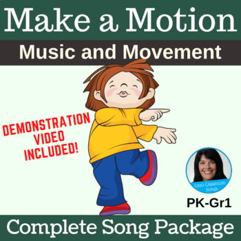 "Circle Singing Game | ""Make a Motion"" by Lisa Gillam 