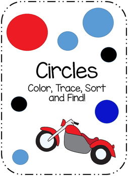 Circle Sort, Trace, Color and Find
