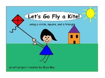 Go Fly A Kite a shape collage