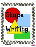 Shapes: Circle, Square, Triangle, Rectangle Writing Pre-K,