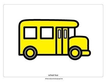 Wheels on the Bus: Interactive Song Card: Choice Making, Circle Time Fun