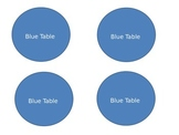 Circle Table Labels