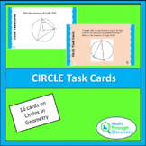 Geometry - Circle Task Cards
