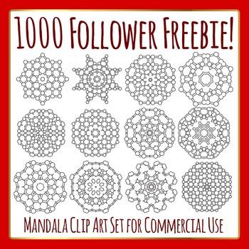 Circle Themed Mandalas - 1000 Follower Freebie Commercial