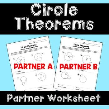 Circle Theorem: Partner Worksheet