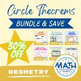 Geometry Circle Theorems Activity Bundle