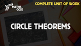 Circle Theorems - Complete Unit of Work