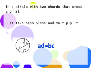 Circle Theorems Rap