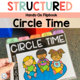 Circle Time Activities Flipbook for Preschool, Pre-K Special Education
