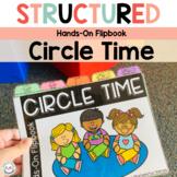 Circle Time Activities Flipbook for Preschool, Pre-K Speci