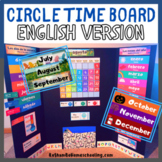 Circle Time Board: English Only Version
